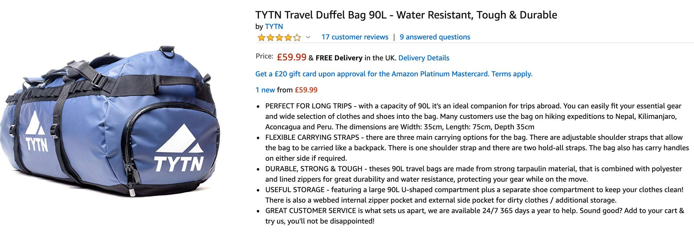 tytn product description
